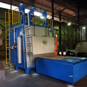 Batch Tempering Furnace :  Furnace Engineer by CHS-ASIA Col.,LTD