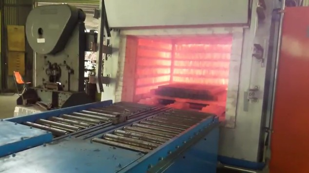 During test loading&unloading system on Batch annealing furnace... :  Furnace Engineer by CHS-ASIA Col.,LTD